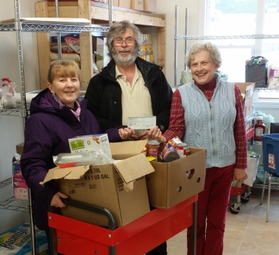 Food Bank Donation March 2016