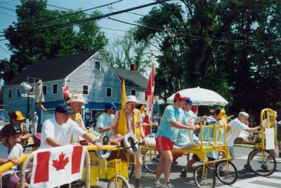 Lions July 1st Bed Race