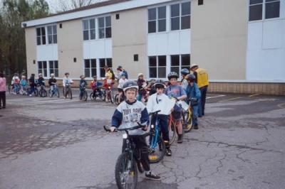 Annual Children's Bike Rodeo.
