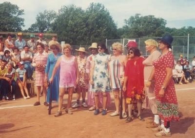 Hantsport & District Lions Cuties soft ball team.