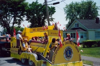 Float July 1st Parade