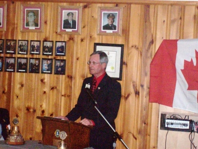 PID Jim Sherry 25th Charter Night Guest Speaker